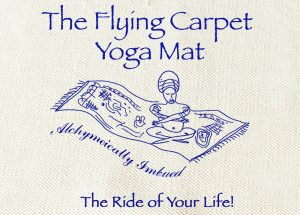 flying carpet yoga mat, yoga mat, cotton mat,