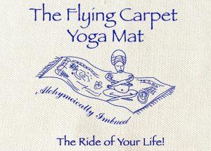 flying carpet yoga mat, yoga mat, cotton mat,
